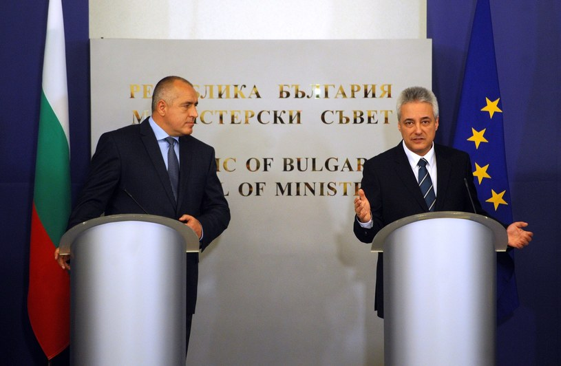 Bojko Borysow i Marin Rajkow /AFP