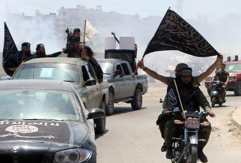 Bojownicy z organizacji Front al-Nusra /AFP