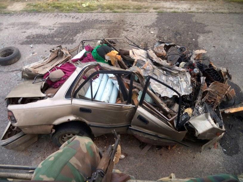 Boko Haram nie składa broni /NIGERIAN ARMY /AFP