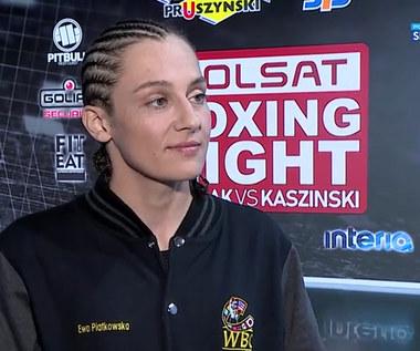 Boks. Ewa Piątkowska: Chciałabym boksować nieco częściej (POLSAT SPORT). WIDEO