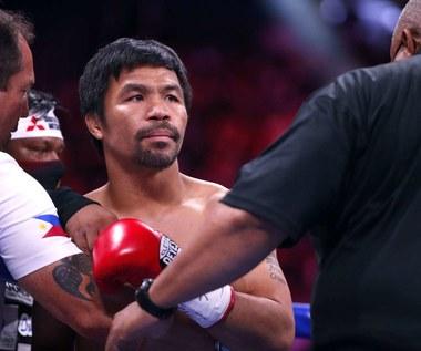 Boks. Manny Pacquiao kandydatem na prezydenta