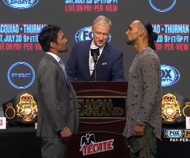 Boks. Manny Pacquiao - Keith Thurman. Legenda znowu w akcji. Wideo