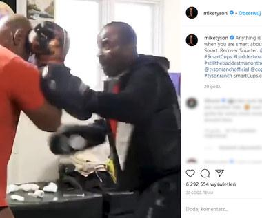 """Boks. Mike Tyson znowu imponuje. """"Wracam"""". Wideo"""