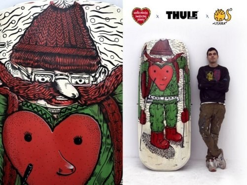 Boks Thule Pacific z grafiką Lisa Kuli /Thule