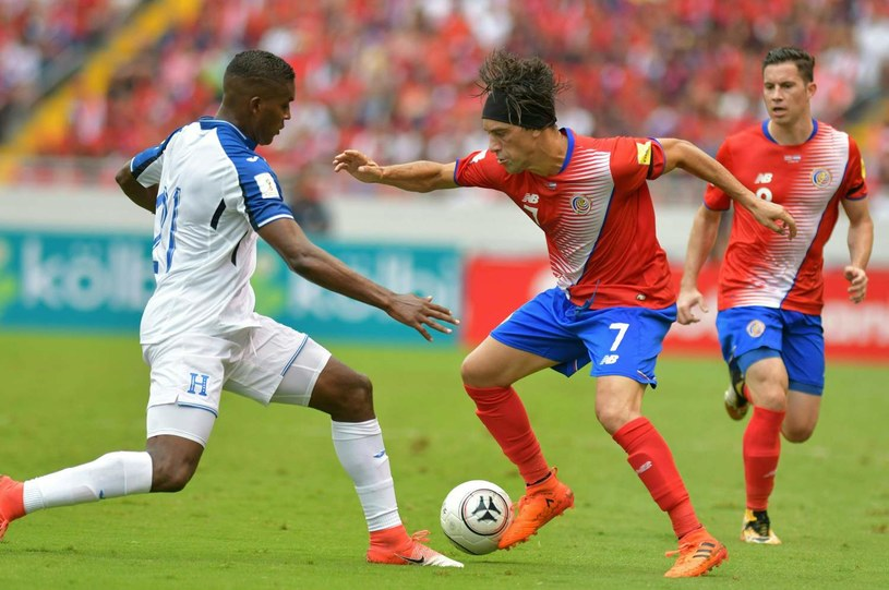 Bolanos podczas meczu eliminacji MŚ z Hondurasem /AFP