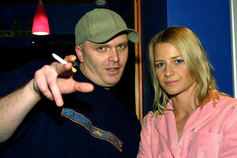 Bolec i Małgorzata Kożuchowska /Marek Zawadka /Reporter