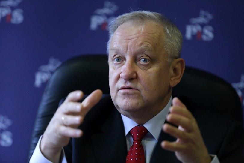 Bolesław Piecha, poseł Parlamentu Europejskiego /Dominik Gajda/REPORTER /Reporter