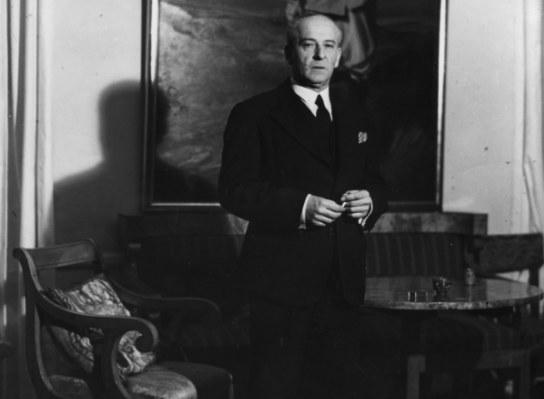 Bolesław Wieniawa-Długoszowski jako dyplomata /Z archiwum Narodowego Archiwum Cyfrowego