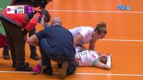 Bolesna kontuzja Pauli Słoneckiej. Siatkarka #VolleyWrocław zniesiona z boiska