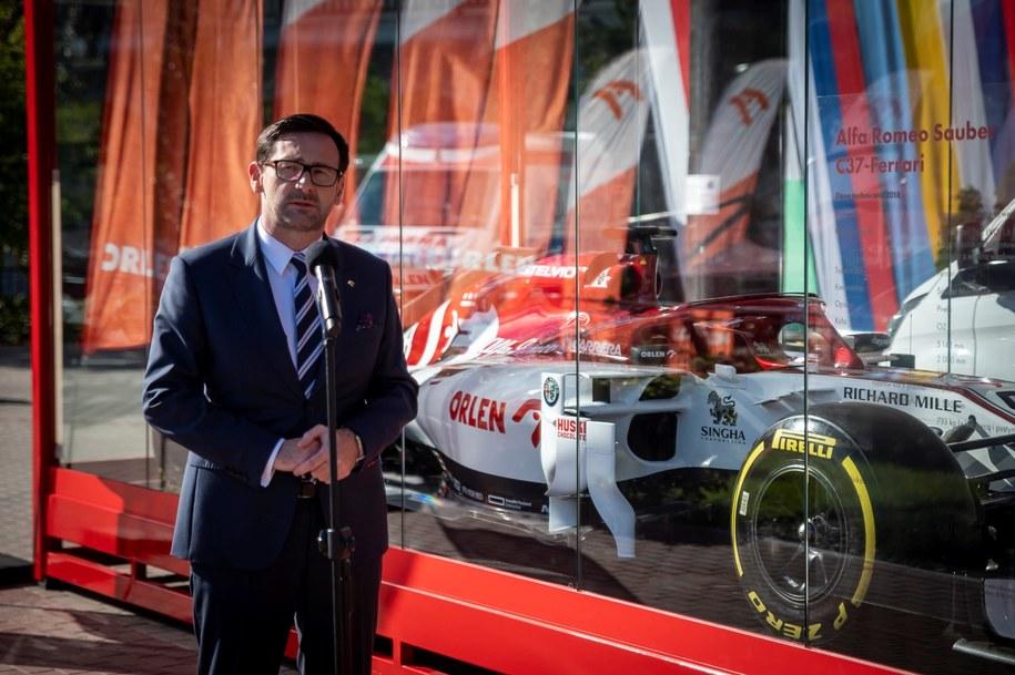 Bolid Alfa Romeo Racing Orlen rusza w podróż po Polsce /PKN Orlen /Materiały prasowe