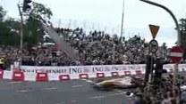 Bolid F1  na ulicach Warszawy