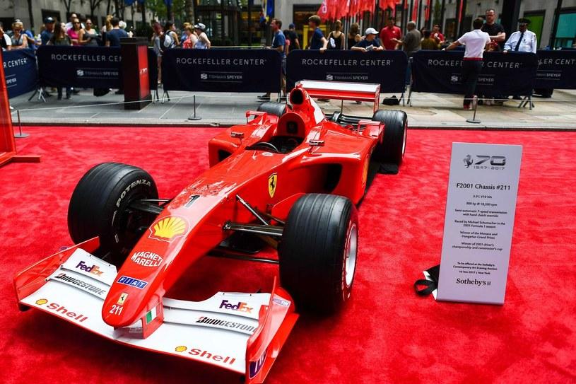Bolid Michaela Schumachera /AFP
