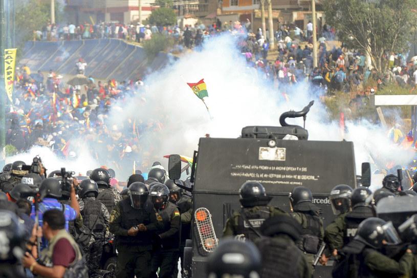 Boliwia; W starciach z wojskiem i policją zginęły cztery osoby /AFP