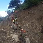 Boliwia: Ziemia osunęła się na autostradę. Kilkanaście ofiar