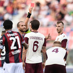 Bologna 3-2 Salernitana. Festiwal kartek, VAR i Goal Line Technology