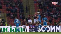 Bologna - Napoli 3-2 - skrót (ZDJĘCIA ELEVEN SPORTS). WIDEO