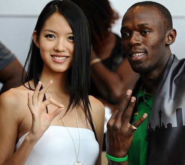 Bolt ma już dość. Nawet miss świata, Zhang Zilin /AFP