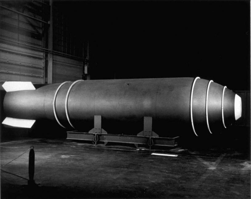 Bomba atomowa Mark 17, którą przypadkowo zrzucono nad Nowym Meksykiem /USAF /domena publiczna