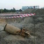 Bomba lotnicza znaleziona na budowie
