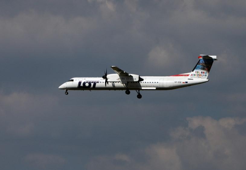 Bombardier LOT, illustrative photo / STANISLAW KOWALCZUK / East News