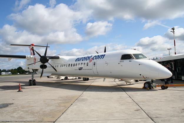 Bombardier Q400 NextGen - takim samolotem Eurolot kursować będzie z Krakowa i Poznania do Werony /