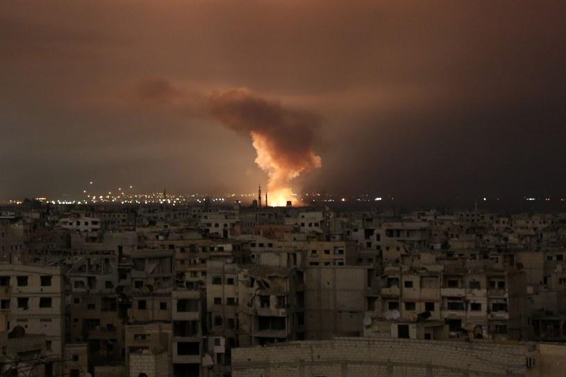 Bombardowania we Wschodniej Ghucie /AFP PHOTO / Ammar SULEIMAN /East News