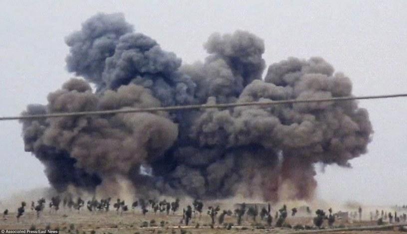Bombardowanie w Syrii (zdj. ilustracyjne) /AFP