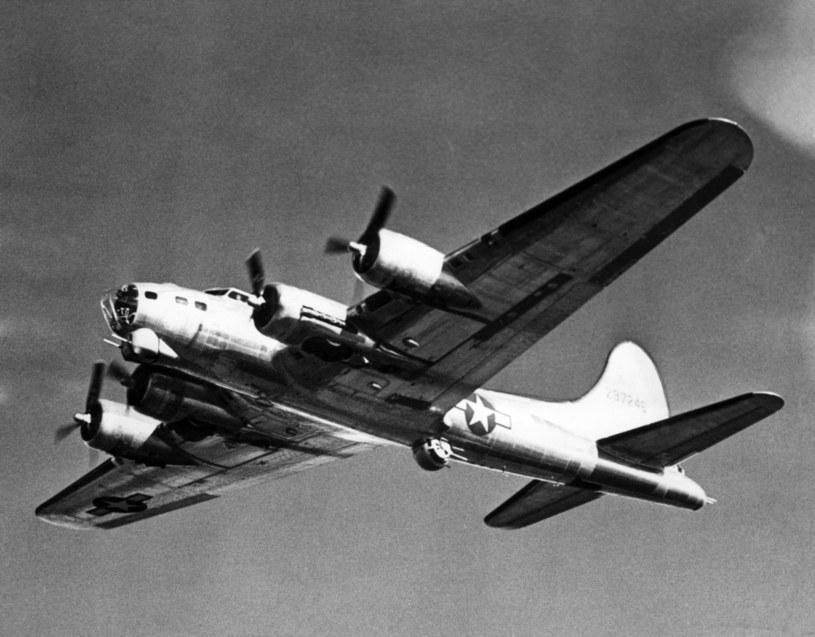 Bombowiec B-17, zdj. ilustracyjne /CSU Archives/Courtesy Everett Collection /East News