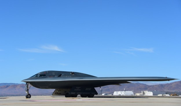 Bombowiec B-2 /AFP