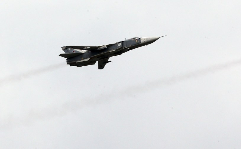 Bombowiec Su-24 /Igor Zarembo /East News