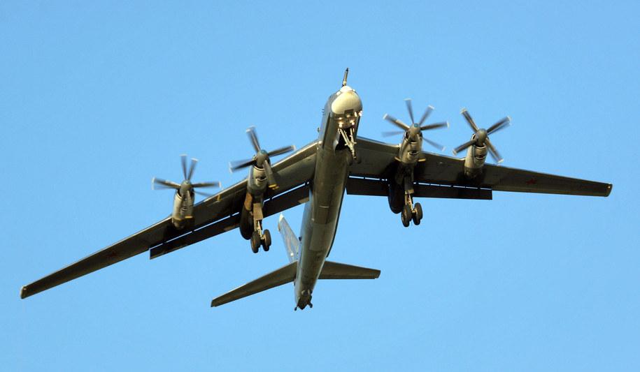 Bombowiec Tu-95 /Lystseva Marina/ITAR-TASS /PAP
