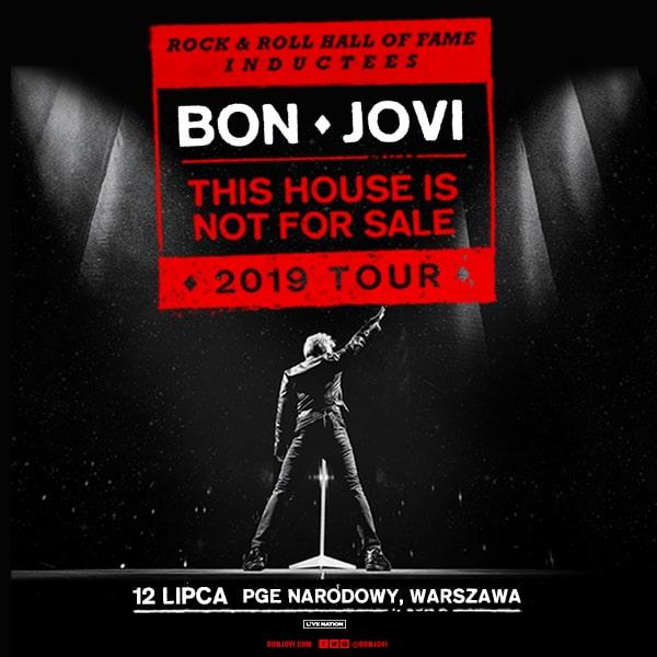 Bon Jovi zagra pierwszy w historii koncert w Warszawie na stadionie PGE Narodowym /Materiały prasowe