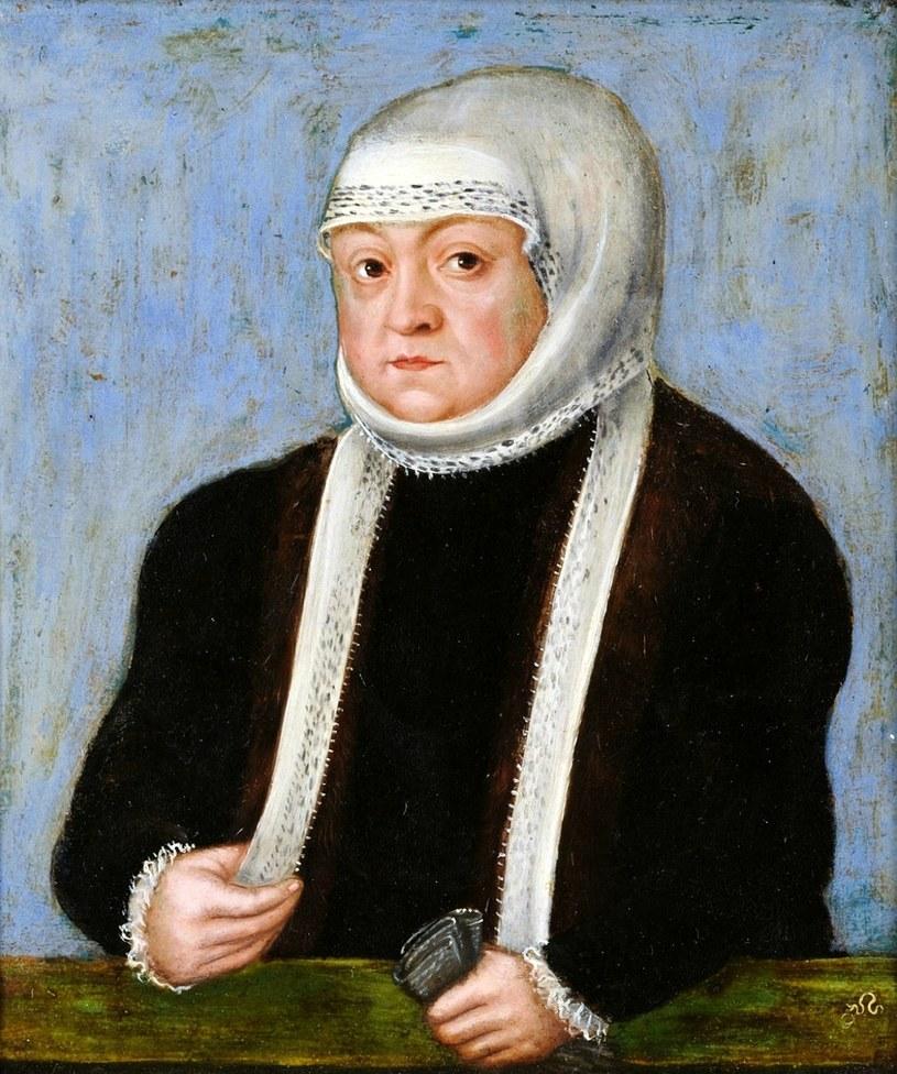 Bona nie zachwyca swoim wyglądem na żadnym z malarskich portretów… (źródło: domena publiczna). /Ciekawostki Historyczne
