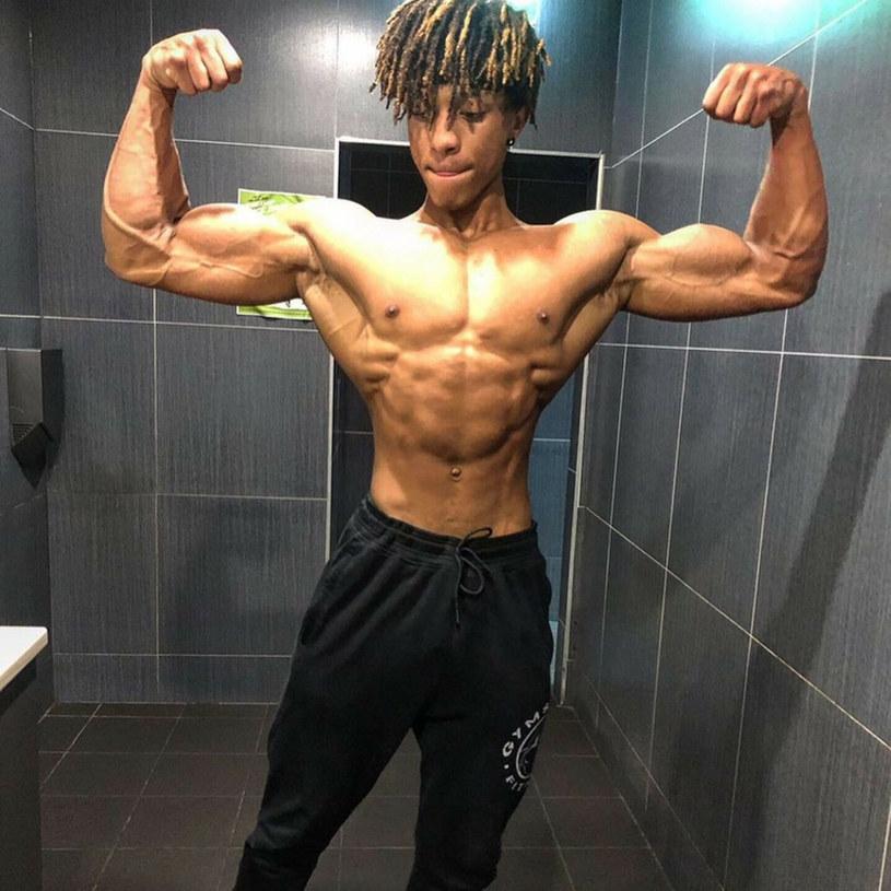 Bonheur Ntwari w wieku nastoletnim był krytykowany przez rówieśników /Jam Press/@bonheur_fitness / SplashNews.com /East News