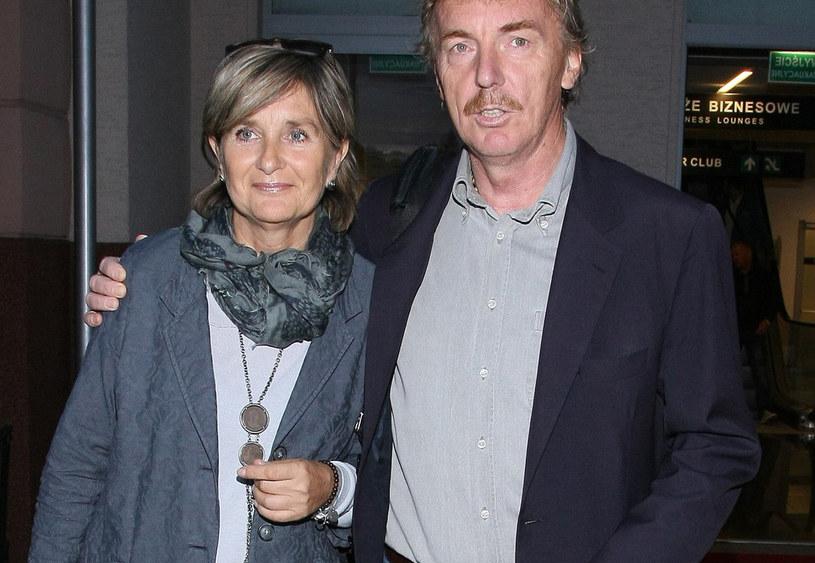 Boniek z żoną /- /East News