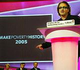 """Bono: """"Niech ubóstwo przejdzie do historii"""" /AFP"""