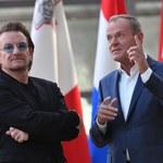 Bono spotkał się z Donaldem Tuskiem w Brukseli: Jak pomagać ludziom?
