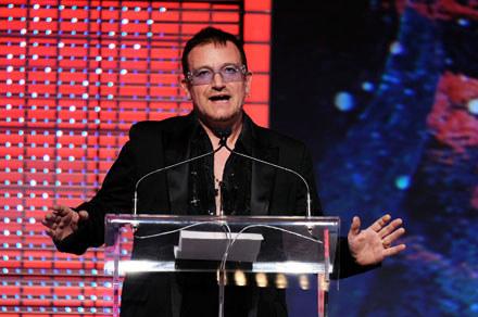 Bono (U2) fot. Bryan Bedder /Getty Images/Flash Press Media