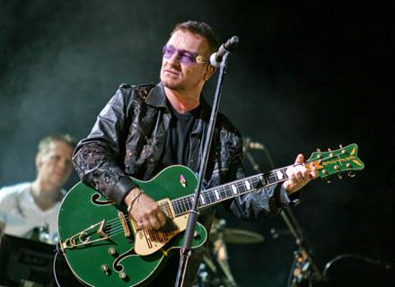 Bono (U2) w Chorzowie /fot. Bartosz Nowicki