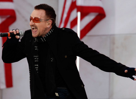 Bono (U2) wraca na scenę - fot. Chip Somodevilla /Getty Images/Flash Press Media
