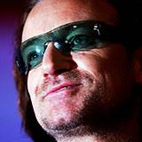 Bono (U2) /AFP