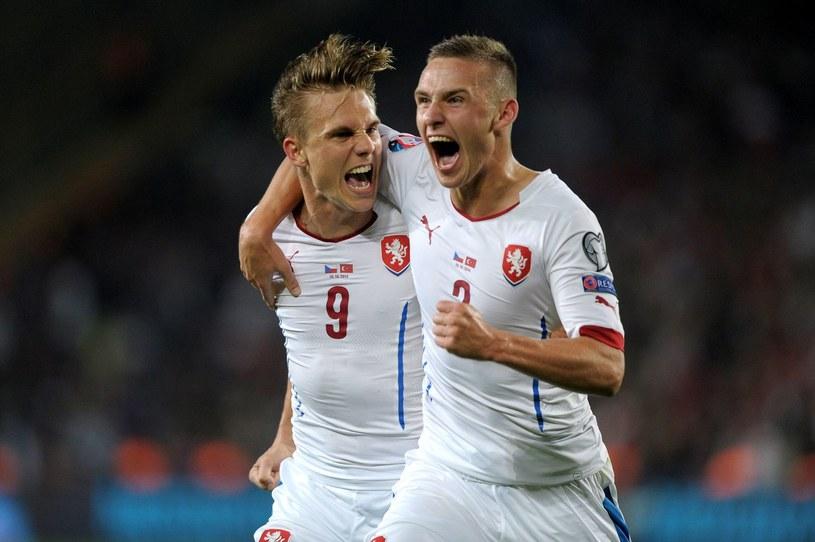 Borek Doczkal (z lewej) i Pavel Kaderabek to filary reprezentacji Czech /AFP