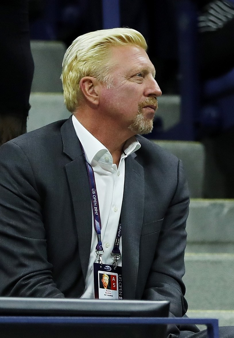 Boris Becker /AFP