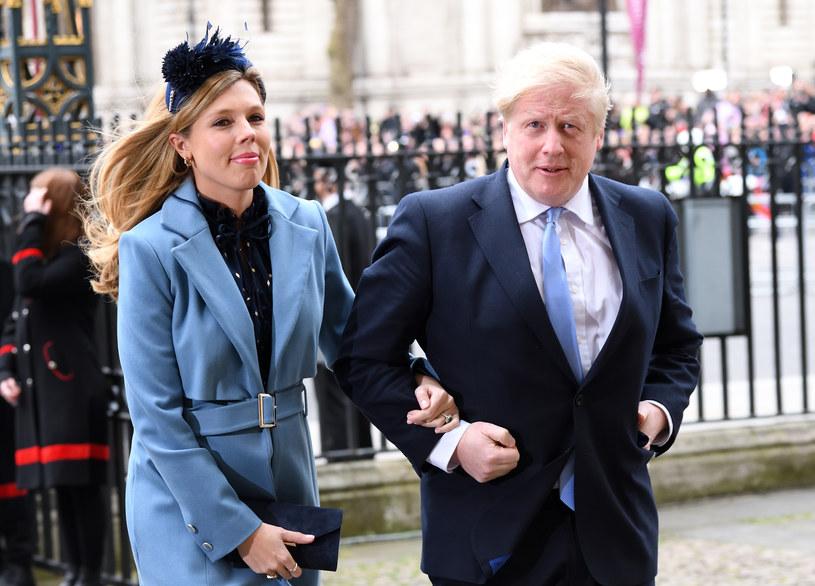 Boris Johnson i Carrie Symonds wzięli ślub /Karwai Tang /Getty Images
