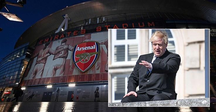 Boris Johnson i fani Arsenalu zgadzają się w sprawie Superligi /AFP