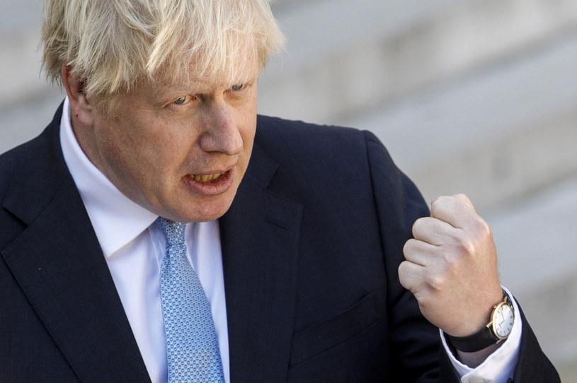 Boris Johnson udał się do Szkocji, by zabiegać o głosy /AFP