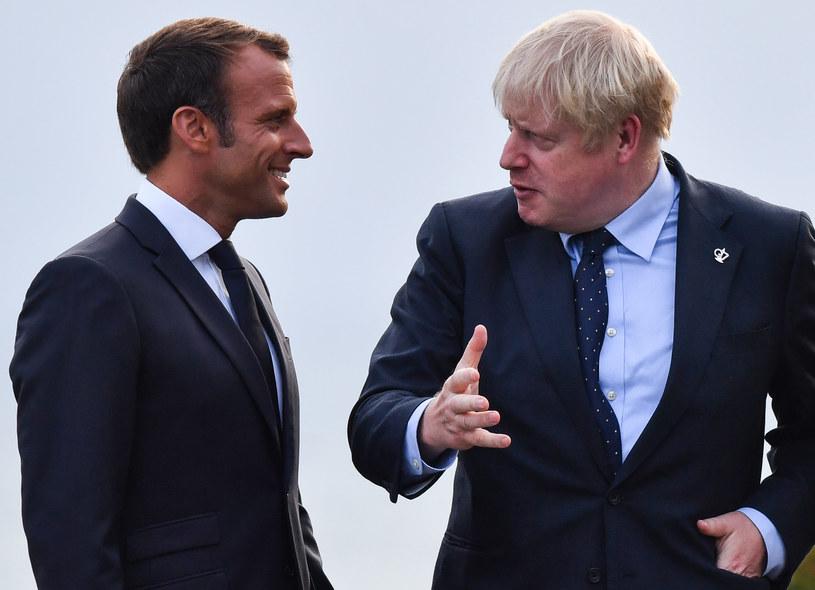 Boris Johnson w rozmowie z Emmanuelem Macronem wykluczył opóźnienie brexitu /NICHOLAS KAMM /AFP