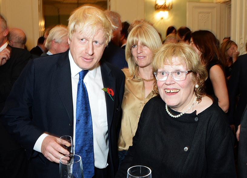 Boris Johnson z siostrą i z matką w 2014 r. /David M. Benett /Getty Images