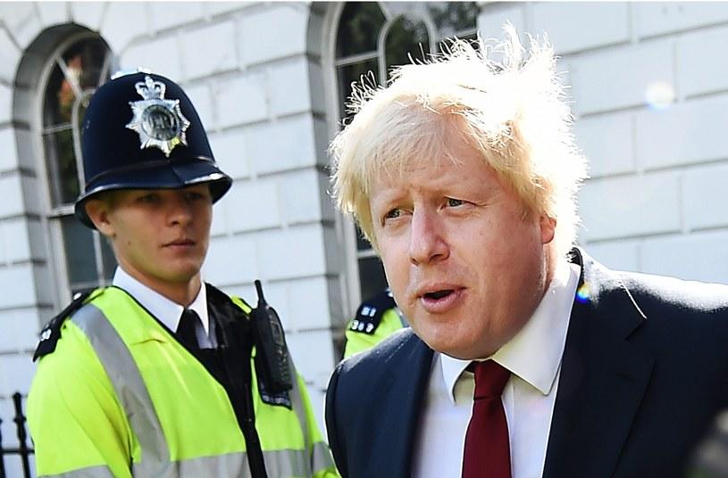 Boris Johnson /ANDY RAIN /PAP/EPA