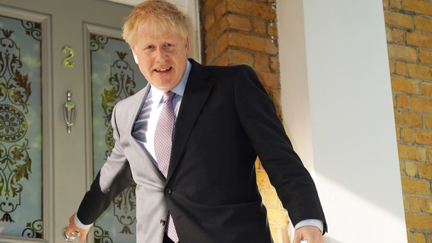 Boris Johnson /STRINGER /PAP/EPA